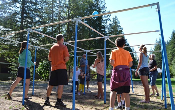 9 Square in the Air at Camp Squeah in Hope BC