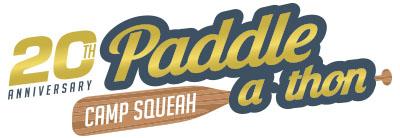 Paddleathon 20th anniversary logo - Revised copy