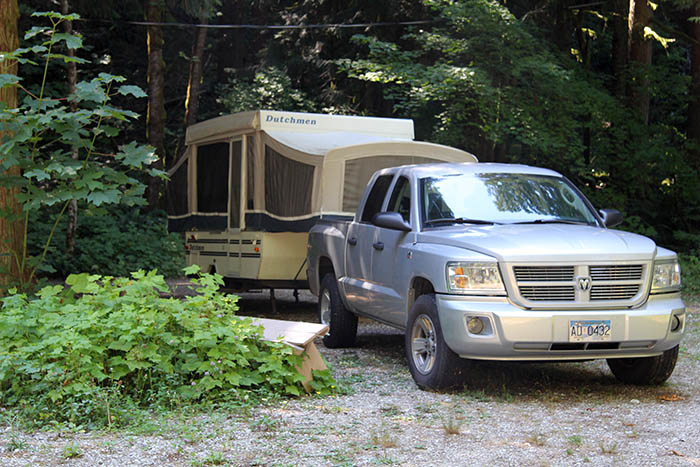 Tent RV at Squeah Retreat Centre